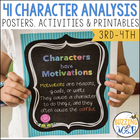 41 Character Analysis charts, activities, and tools to use