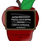41+ Spelling Differentiation Activities and Templates for