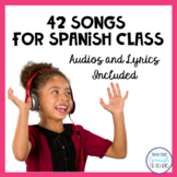 42 Fun Songs For Spanish Class (Mp3)
