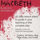 45 Daily Macbeth Lesson Plans!