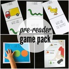 48 Printable Literacy Centers for Early Readers