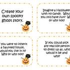 48 Halloween Writing Prompts and Story Starter Task Cards