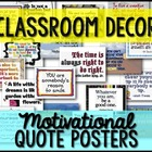 63 Classroom Signs/Posters Quotes, Character Ed, Sports {B