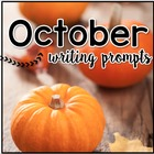 October Writing Prompts - October Journal Prompts
