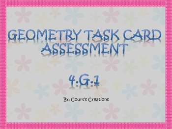 4.G.1 Task Card Assessment