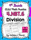 4.NBT.6: Dividing (Partial Quotients, Distributive Propert