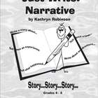 4th, 5th, 6th Grade Writing Program - Narrative Workbooks 