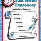 4th - 6th Grade Expository Writing Activities, Prompts - C