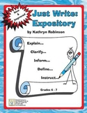 Writing Curriculum: Week-By-Week: Grade 4 - 7 Expository -