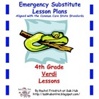 4th Grade CCSS Emergency Sub Plans