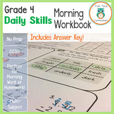 4th Grade Common Core Daily Morning Bell Workbook