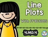 Line Plots: Math Tasks, Exit Tickets, I Cans; Common Core 4.MD.4