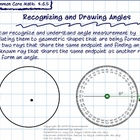 4th Grade Common Core Math Lesson: Recognizing and Drawing