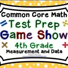 4th Grade Common Core Math Test Prep Game Show - Measureme