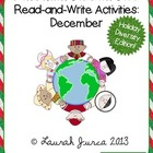Non-Fiction Common Core Read-and-Write Activities: Decembe
