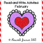Non-Fiction Common Core Read-and-Write Activities: February