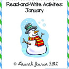 Non-Fiction Common Core Read-and-Write Activities: January