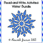 4th Grade Common Core Read-and-Write Activities: Winter Bundle