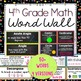4th Grade Common Core Standards Math Vocabulary