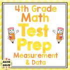 4th Grade Common Core Math Test Prep - Measurement and Data