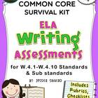 4th Grade Common Core Writing Assessment