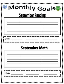 4th Grade Data Binder-Common Core Standards (Space)