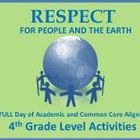 4th Grade Full Day Emergency Sub Lesson Plans/Respect Theme