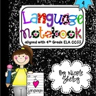 4th Grade Language Interactive Notebook (aligned with the