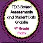 4th Grade Math TEKS Based Assessments {Set 2}