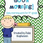4th Grade Morning Work- Set 1