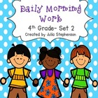 4th Grade Morning Work- Set 2