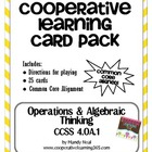 4th Grade Operations & Algebraic Thinking (4.OA.1) Card Pack