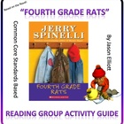 4th Grade Rats By Jerry Spinelli Reading Group Activity Guide
