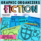 Reading Literature Graphic Organizers for Grades 3-5