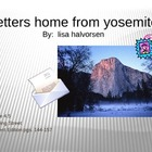 4th Grade Reading Street:  Letters Home from Yosemite PPT