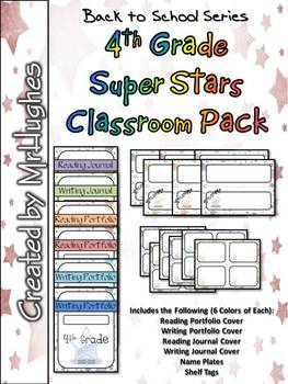 4th Grade Super Stars Classroom Pack
