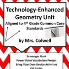 4th Grade Technology Enhanced Geometry Unit