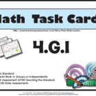 4th - Math Task Cards 4.G.1 Common Core Aligned