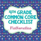 4th grade Math Common Core Standards Checklist