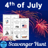 4th of July Scavenger Hunt