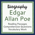 Edgar Allan Poe Warm-up Activities: 5 Days with Edgar Allan Poe