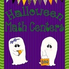 5 Hallowen Math Centers for First Grade