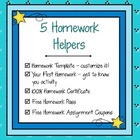 5 Homework Helpers – Save Time & Motivate Students!