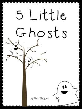 5 Little Ghosts Book