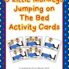 5 Little Monkeys Jumping on the Bed Activity Cards