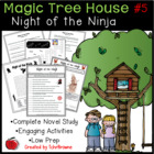 #5 Magic Tree House- Night of the Ninjas Novel Study