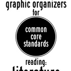 5 Reading Literature Common Core Graphic Organizers