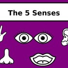 5 Senses Jeopardy Style Review Game