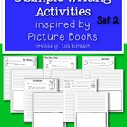 5 Simple Writing Activities Inspired by Picture Books SET 2