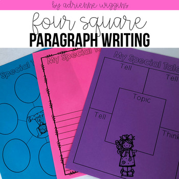 5 Squares to writing full paragraphs & essays